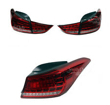 Rear Tail Lamps Limited Edition Red Assy For 2011-2015 Hyundai Elantra Avante MD