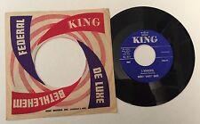 "RARE 7"" HAROLD ""SHORTY"" BAKER 'S WONDERFUL / CHERRY 1960 KING RECORDS 45-5311 US"