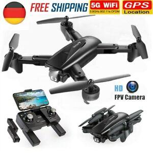 SNAPTAIN SP500 5G WIFI FPV Drohne HD Kamera Selfie Quadrocopter RC Drone+3 Akkus