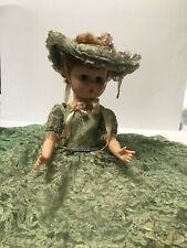 Vintage Southern Belle Doll With Hat - 24� Tall.