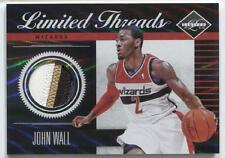 John Wall 2011-12 Panini Limited Threads Patch Rare 4 Color 25/25 RC EB 1/1 Last
