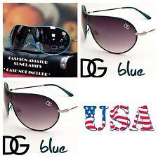 DG Eyewear Retro Bike Cycling Shield Sports Sunglasses UV Shades Avistor BLUE