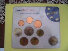 GERMANIA-2006-ZECCA BERLINO-SERIE DIVISIONALE 8 VALORI-FIOR DI CONIO