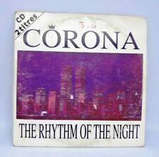 CD AUDIO MUSIQUE  CORONA THE RHYTHM OF THE NIGHT 2T CDS 1994