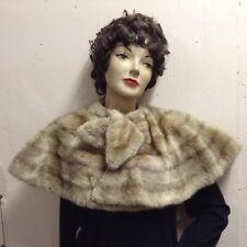New listing Blonde fur stole, short cape style