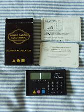 "Calcolatrice orologio alarm calculator vintage ""Aceplus - Trio de Pierre Cardin"""