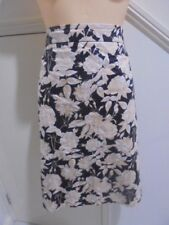 "TARGET SIZE 20 Black Taupe Beige Lined A Line LINED SKIRT ""PERFECT"""