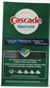 1 Cascade Complete Dawn Powers Away Grease Fresh Scent Dishwasher Detergent 5.62