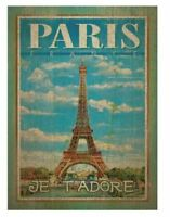 Creative Toy Company Clementoni Wooden Paris 500 Piece Puzzle NEW IN BOX