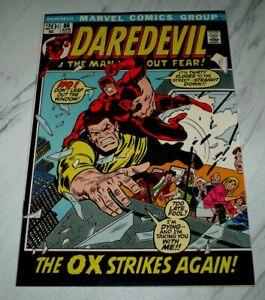 Daredevil #86 NM+ 9.6 White pages Unrestored 1972 Marvel Black Widow