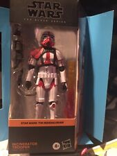 Star Wars Black Series 6? Incinerator Trooper - Mandalorian
