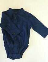 New Babyborn Carters Elegant Shirt Baby Boys Clothes NB Kids Long Sleeves Wear