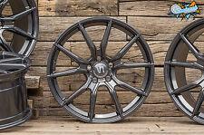 NEU für VW Golf 5 6 6R 7R GTI GTD GTE 18 Zoll Alufelgen V1 Wheels grau ABE