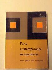L'Arte contemporanea in Jugoslavia, 1962, Catalogo della Mostra