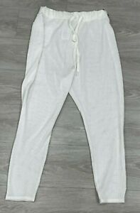 NWT Womens Small Under Armour Drawstring White Pants Crop $60 $$$$$