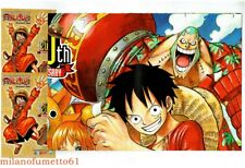 ONE PIECE POSTER 20th Anniversario Limited Edition + 2 cartoline GOLD