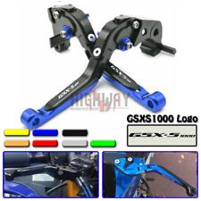 V-Trec Vario II//Vario Safety Motorrad Kupplung Bremshebel-Set Suzuki GSX-R-750 04-05 mit ABE Klappbar Verstellbar