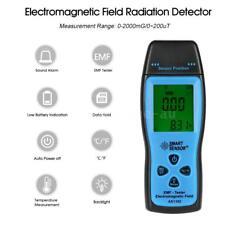 Digital LCD EMF Tester Electromagnetic Field Radiation Detector Meter Tool U0Z6