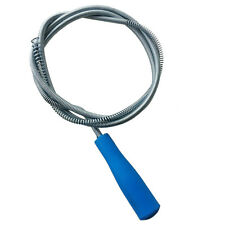 Amico blue Plastic Grip Snake Spring Pipe Rod Sink Drain Cleaner Unblocker HY