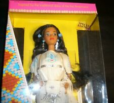 MATTEL 1992 NATIVE AMERICAN BARBIE FROM DOLLS OF THE WORLD COLLECTION