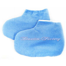 Blue Paraffin Wax Protection Leg Foot Gloves Pedicure 394bu