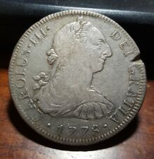 Scarce Date 1778 Mo FF Mexico 8 Reales