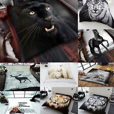3d Animal Print efectuadas Mink Faux Fur Cobertor Manta Polar Suave sofá cama sofá