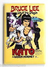 Kato & Green Hornet Fridge Magnet (2 x 3 inches) movie poster bruce lee dragon