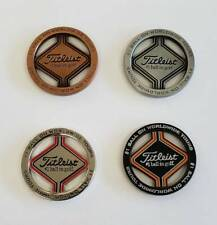 Titleist Golf Ball Marker Set of 4 Not sold in stores New