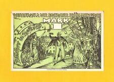 ROSTOCK (ALLEMAGNE) BILLET-MONNAIE de NECESSITE illustré BRUCHER OVATION en 1922