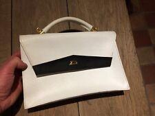 jolie sac à main blanc marque D SIMILI CUIR  TBEG  bag
