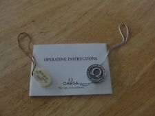 Omega Seamaster Instruction Booklet & tags