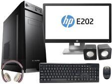 "PC DESKTOP COMPUTER FISSO I3 WIN 10 RAM 4GB /HDD 1 TB WIFI + MONITOR LED 20"""