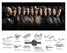 Dr. Who signed x12 Doctor Who 8X10 photo picture poster autograph RP