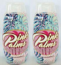 Lot of 2 Pink Palms Dark Tanning Lotion Tanovations Ed Hardy 10 oz