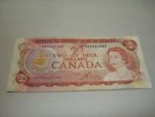 1974 - Canadian two dollar bill - $2 Canada note - RB9921347