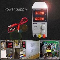 0-30V 0-10A DC Digital Einstellbar Netzteil Labornetzgerät Trafo Power Supply de