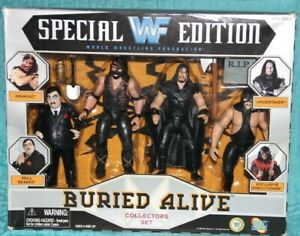 NEW WWF JAKKS Special Edition Buried Alive Collectors Set Executioner Undertaker