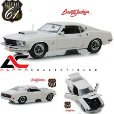 HIGHWAY 61 18018 1:18 1969 FORD MUSTANG BOSS 429 BARRETT JACKSON #1410