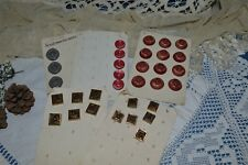 Lot of Buttons Antique/Acetate/Polyester/Approx. Years 50