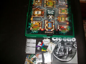 Travel Cluedo Spare Replacement Pieces Cards Movers Dice Notebook Instructions
