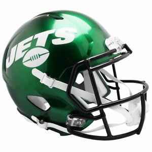 NY JETS Riddell Speed NFL Full Size Replica Football Helmet