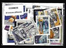 Cosmos Espace - Cosmos Space 50 timbres différents oblitérés