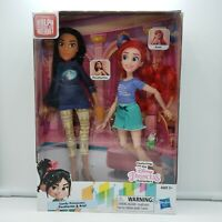 Ralph Breaks the Internet Movie-Disney Princess Dolls Ariel & Pocahontas NEW