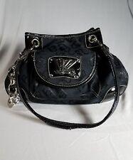 Kathy Van Zeeland KVZ Women's Black Medium Size Purse / Handbag With Charms