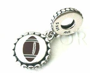 Authentic Pandora Football Touchdown Dangle Charm Bead ENG792018_15