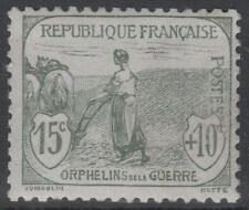 """FRANCE STAMP TIMBRE N° 150 """" ORPHELINS FEMME LABOUR 15c + 10c """" NEUF xx TB K445"""