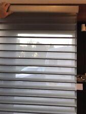 Silhouette Blind Luxaflex Colour Grey 610w X 1560 D 75mm Slat