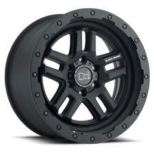 17 inch 17x8 Black Rhino Barstow Matte Black wheel rim 6x130 +52