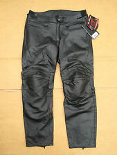 "RST INTERSTATE 2 Mens Leather Motorcycle Trousers Pants Jeans UK 40"" waist (LBD)"